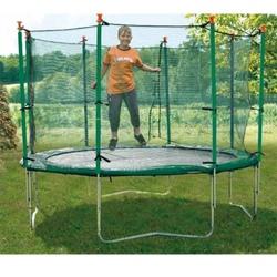 Tappeto elastico con rete protettiva per esterno mod. 370 Jump 41537