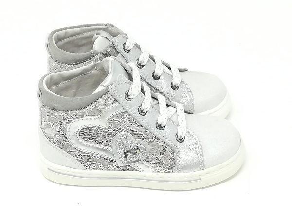 Baby Sneaker Pizzo - NERO GIARDINI Kids & Teens