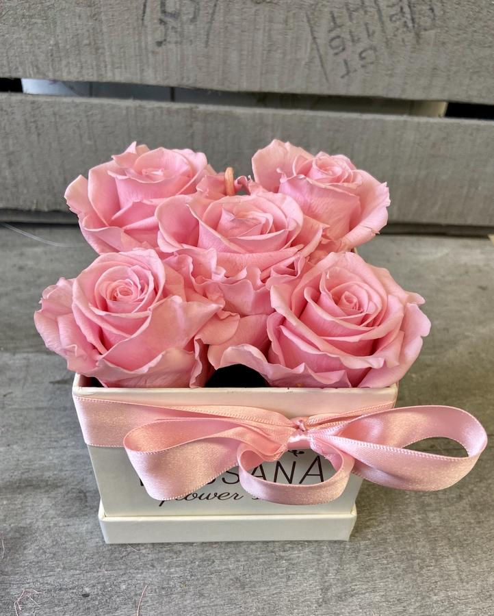 FLOWER BOX Q5 Rossana Collection ROSA