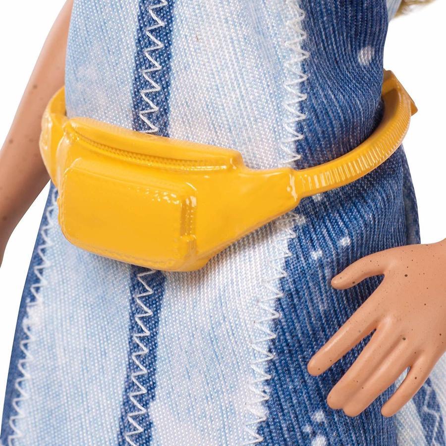 Barbie Fashionistas con Vestito Denim - Mattel FXL48 - 3+ anni