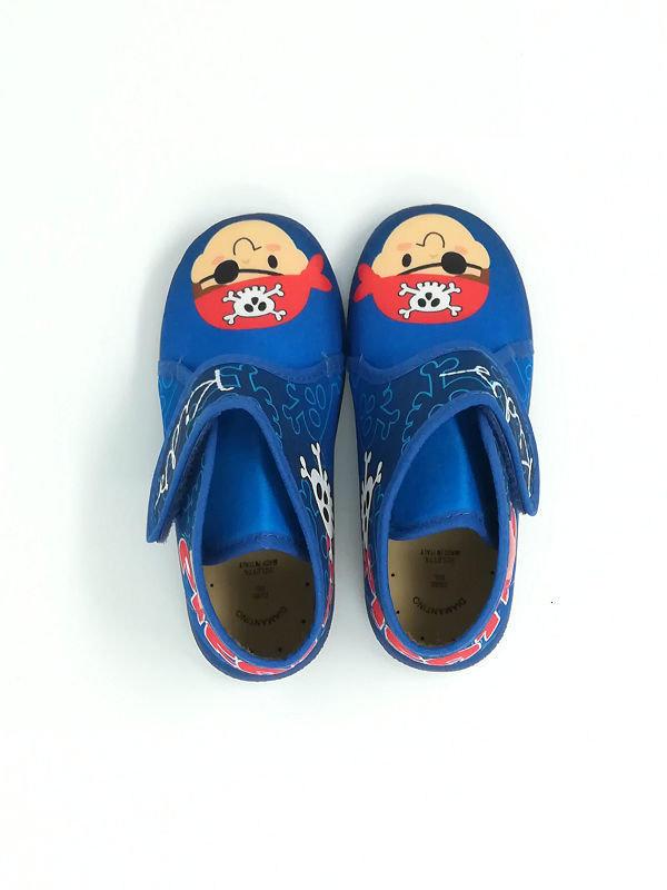 Pantofola Cotone Alta - DIAMANTINO