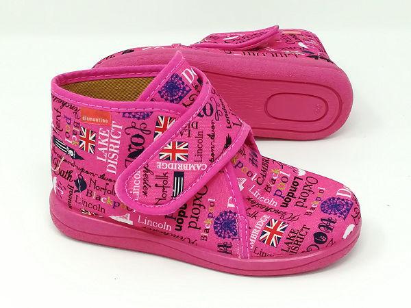 Pantofola English Alta - DIAMANTINO