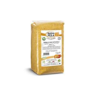 Farina di Mais Integrale Molino Peila 1 Kg