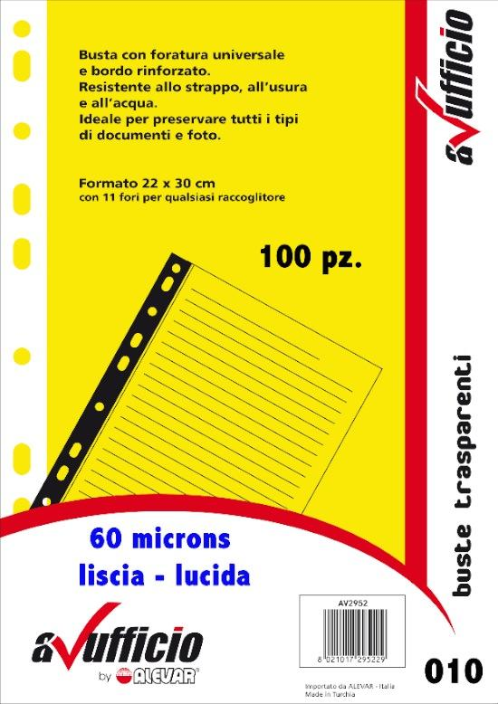 Buste forate universale A4