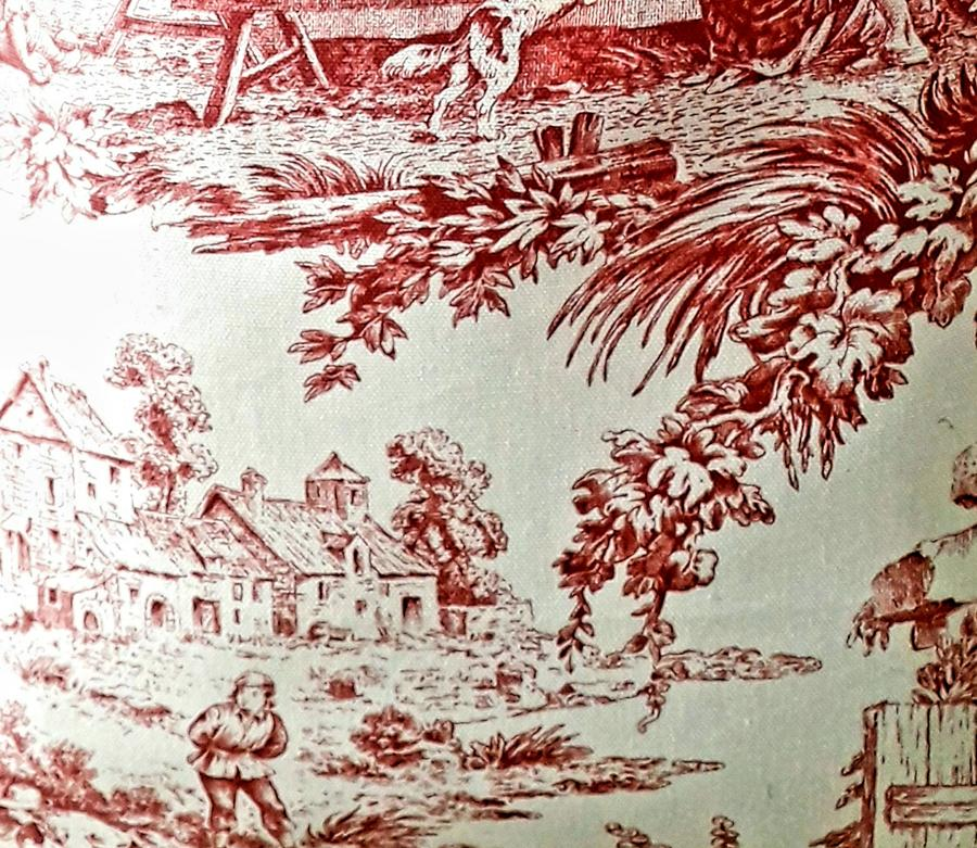 ZAINETTO TOILE DE JOUY RED