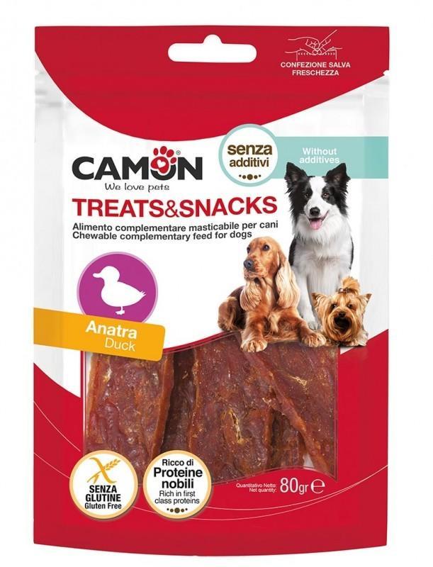 Camon AE530 Snack Per Cani Bastoncini Masticabili Gusto Anatra  Senza Additivi