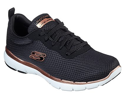 Flex Appeal 3.0 Nero/Rame - SKECHERS