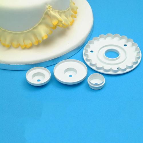 set merletto (garrett frill)  linea Torte Design