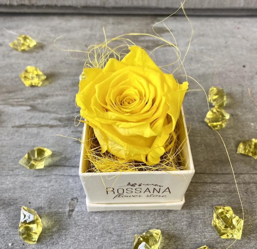 FLOWER BOXettino Rossana Collection GIALLO