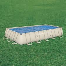 Telo Termico galleggiante per piscine rettangolari Frame dimensione  732 x 366 Bestway 58228