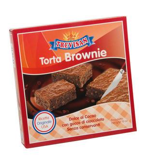 Torta American Brownie Trevisan 285 gr