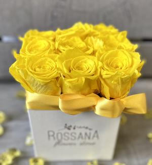 FLOWER BOX Q9 Rossana Collection GIALLO