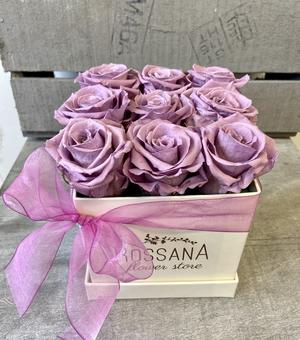 FLOWER BOX Q9 Rossana Collection LILLA