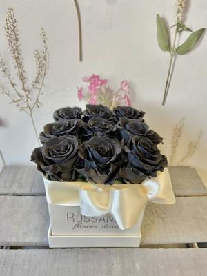 FLOWER BOX Q9 Rossana Collection NERO