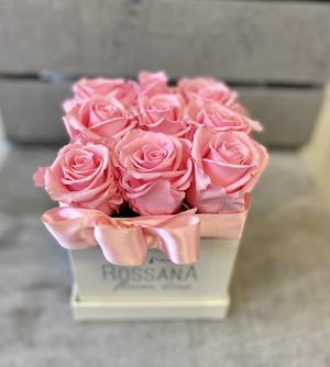 FLOWER BOX Q9 Rossana Collection ROSA