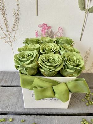 FLOWER BOX Q9 Rossana Collection VERDE
