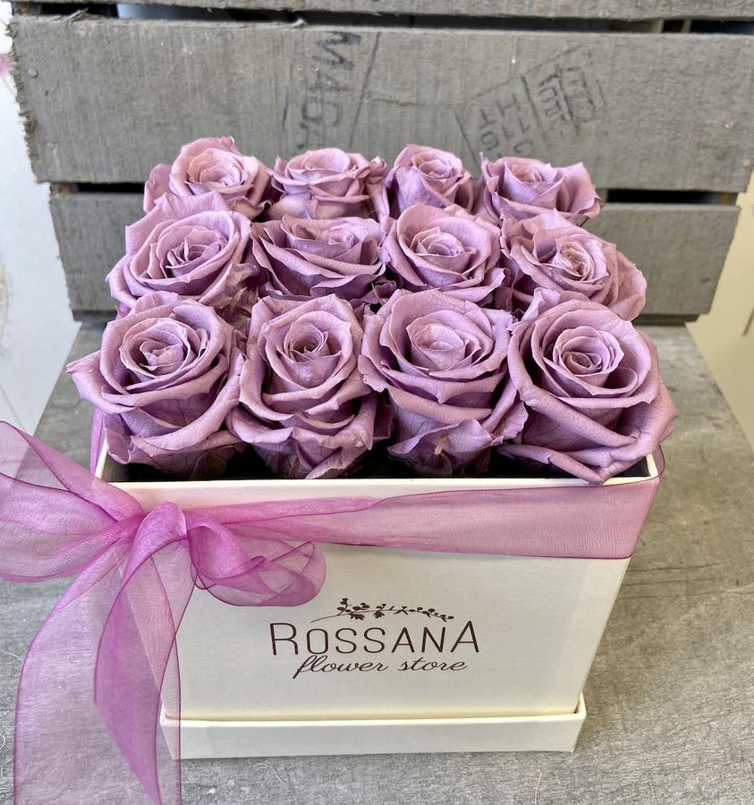 FLOWER BOX Q12 Rossana Collection LILLA