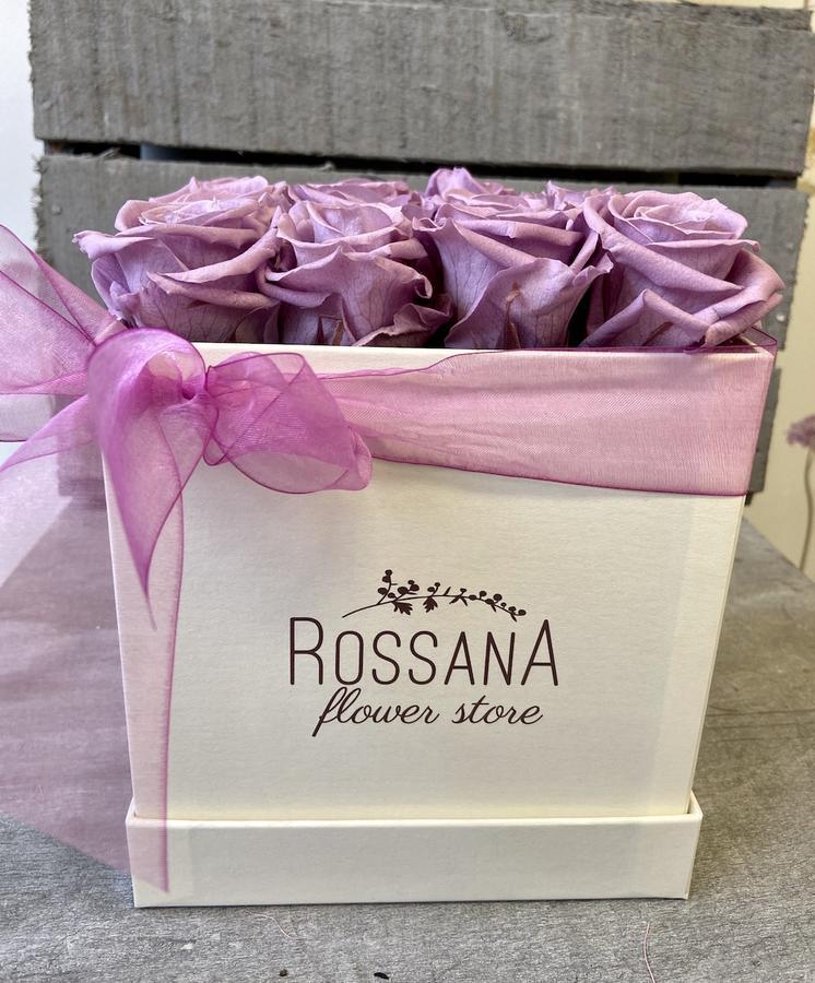 FLOWER BOX Q12 Rossana Collection LILLA