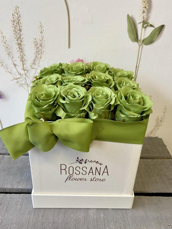 FLOWER BOX Q12 Rossana Collection VERDE