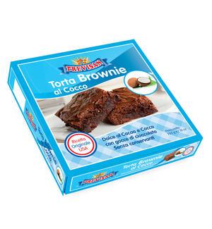 Torta Brownie al Cocco Trevisan 285 gr
