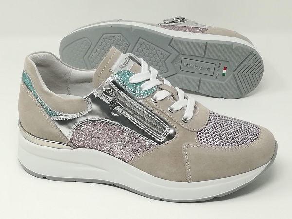 Sneaker Scamosciata/Rete - NeroGiardini