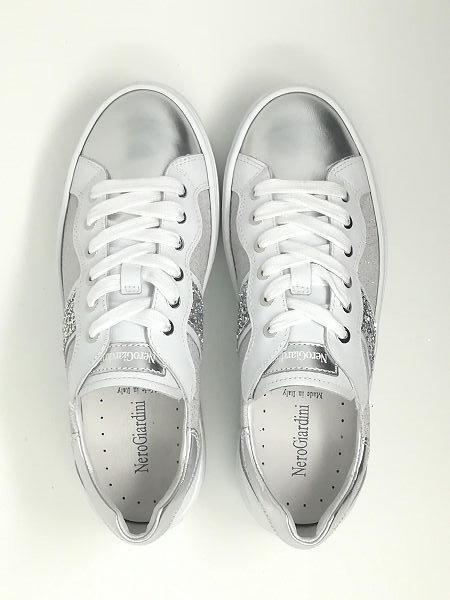 Sneaker Specchio/Strass - NeroGiardini
