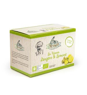 Tisana Bio Zenzero e Limone Trevisan 20 filtri