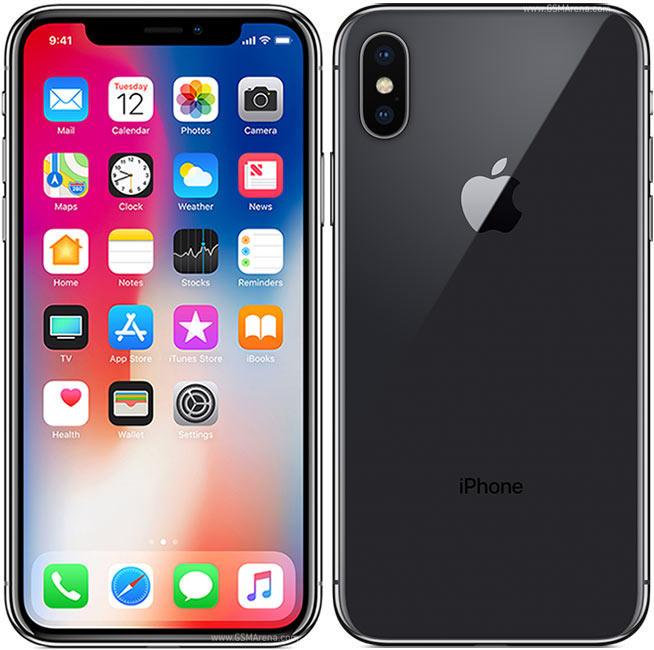 iPhone X 256 GB Nero Ricondizionato GRADO A Garanzia 1 anno