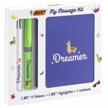 KIT DREAMER MY MESSAGE BIC