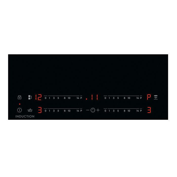PIANO COTTURA VETROCERAMICA A INDUZIONE ELECTROLUX 4 Zone Cottura da 60 cm Colore Nero ( Sense Boil )