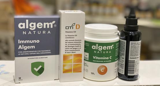 Kit vitamine e immunoalgem