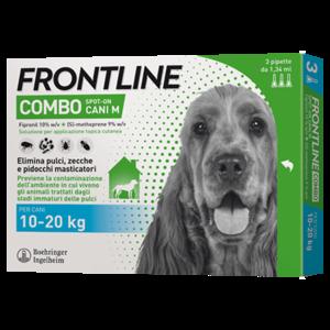 Frontline Combo per Cani 10-20 Kg 3 Pipette