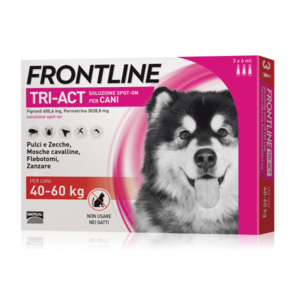 Frontline Triact Spot On per Cani 40-60 Kg 3 Pipette