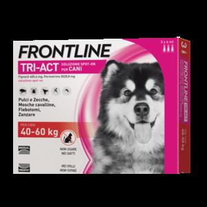 Frontline Triact Spot On per Cani 40-60 Kg 3 Pipette