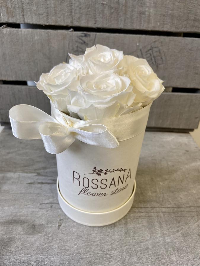 FLOWER BOX T5 Rossana Collection BIANCO