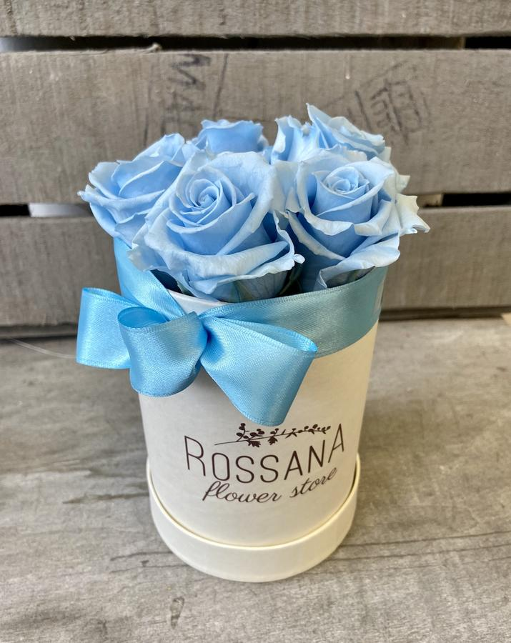FLOWER BOX T5 Rossana Collection AZZURRO