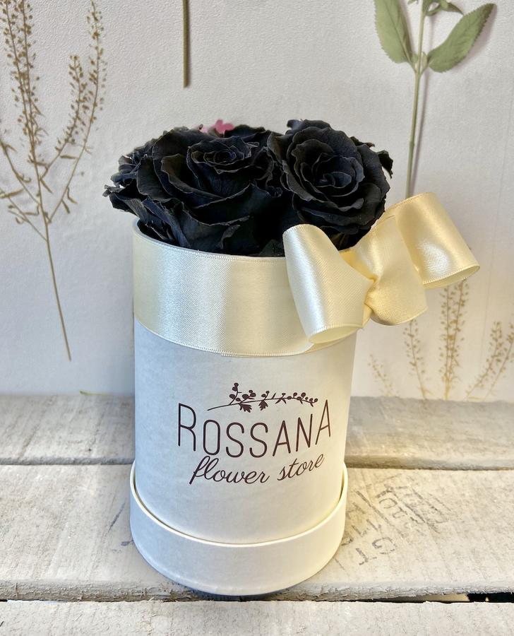 FLOWER BOX T5 Rossana Collection NERO