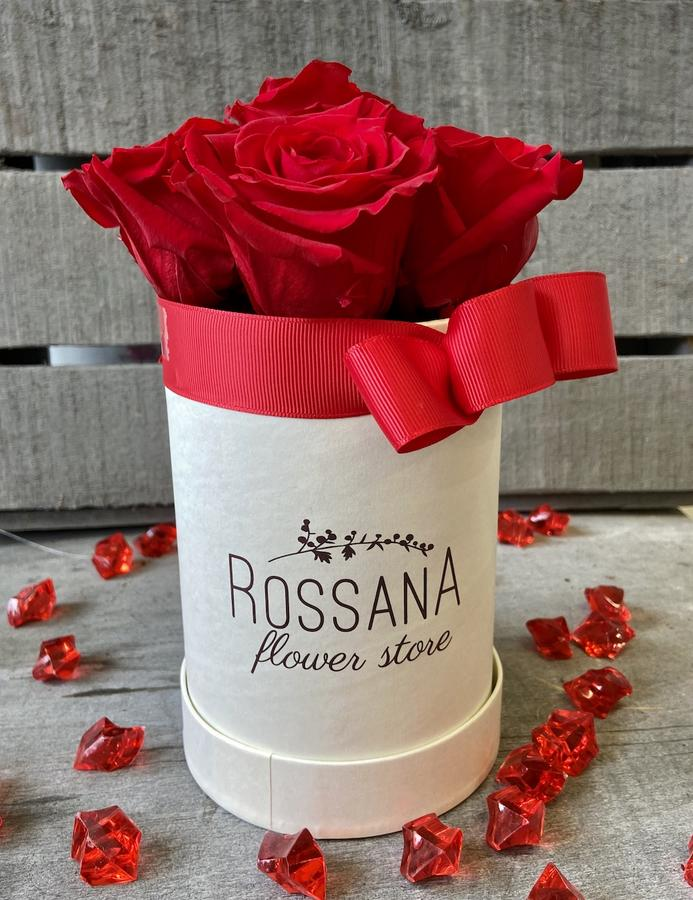 FLOWER BOX T5 Rossana Collection ROSSO
