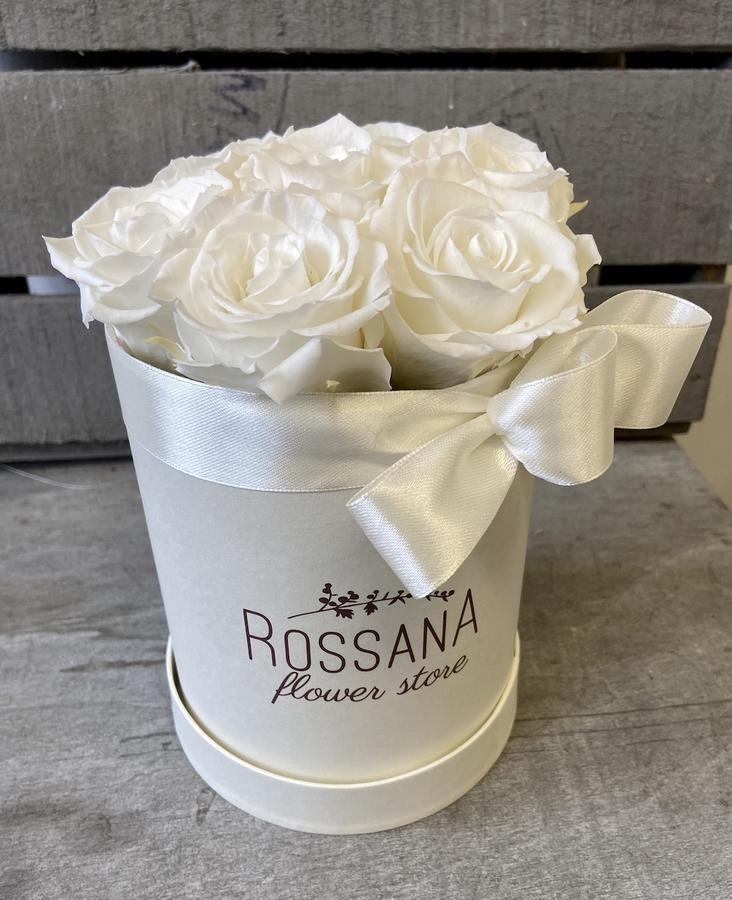 FLOWER BOX T7 Rossana Collection BIANCO