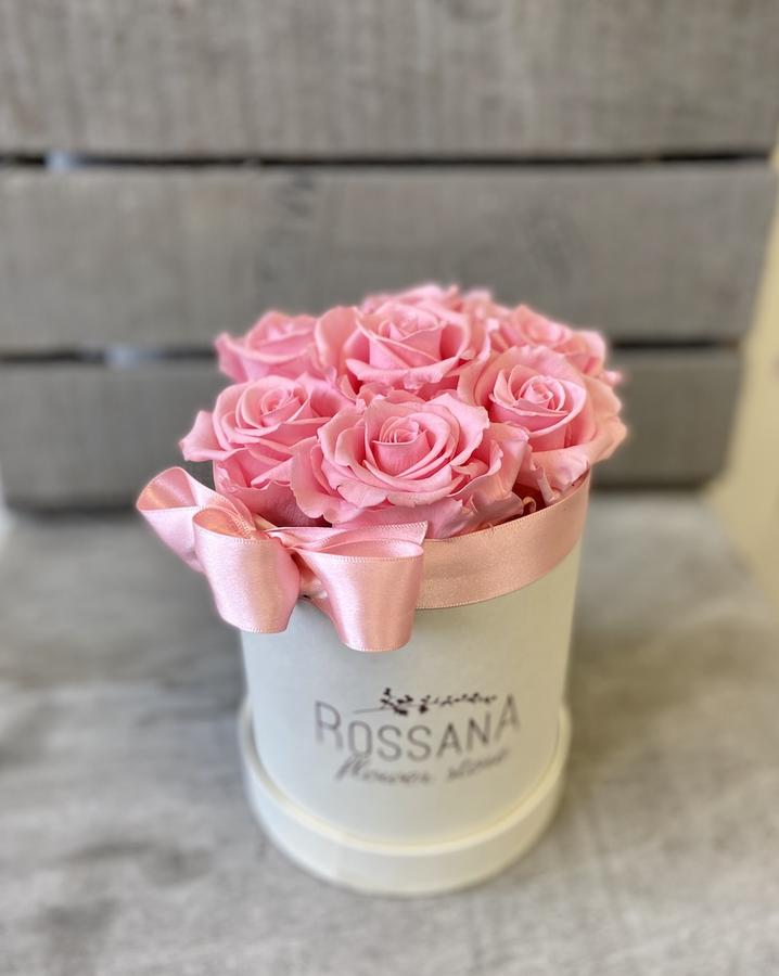 FLOWER BOX T7 Rossana Collection ROSA