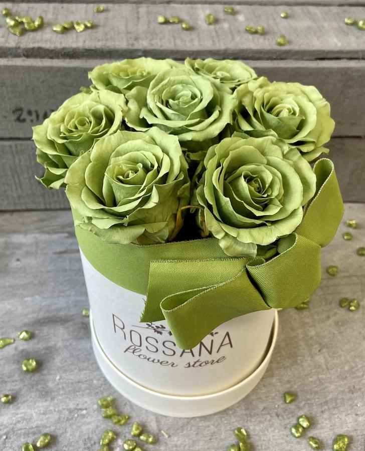 FLOWER BOX T7 Rossana Collection VERDE