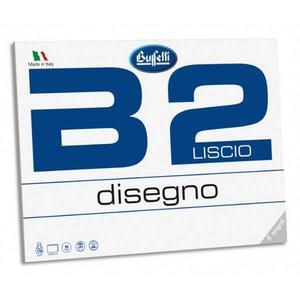 BLOCCO ALBUM DISEGNO RUVIDO D4 20 FOGLI 24x33