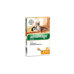Advantage Spot On per Gatti e Conigli 40mg