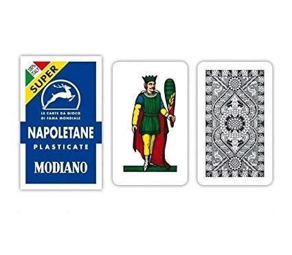MODIANO Carte Napoletane plastificate
