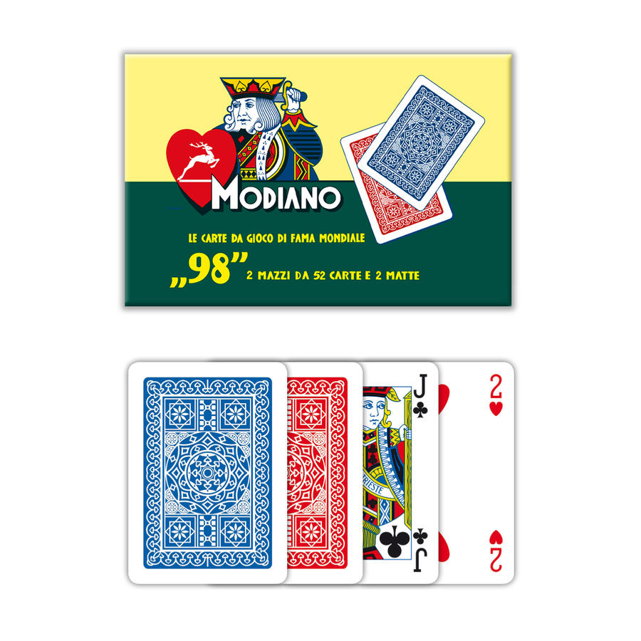 MODIANO Carte da Poker n°98