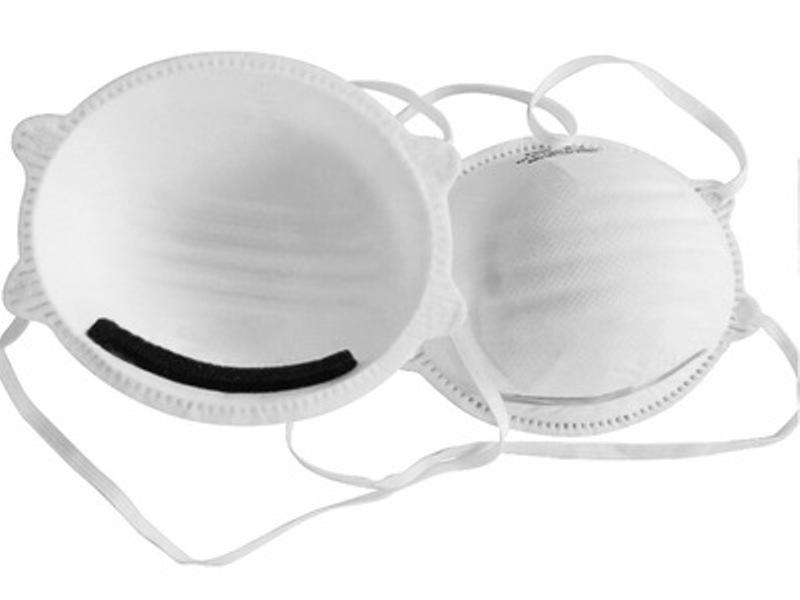 Mascherina respiratoria FFP2 senza valvola con ferretto stringinaso mod SJ2278 PZ 1