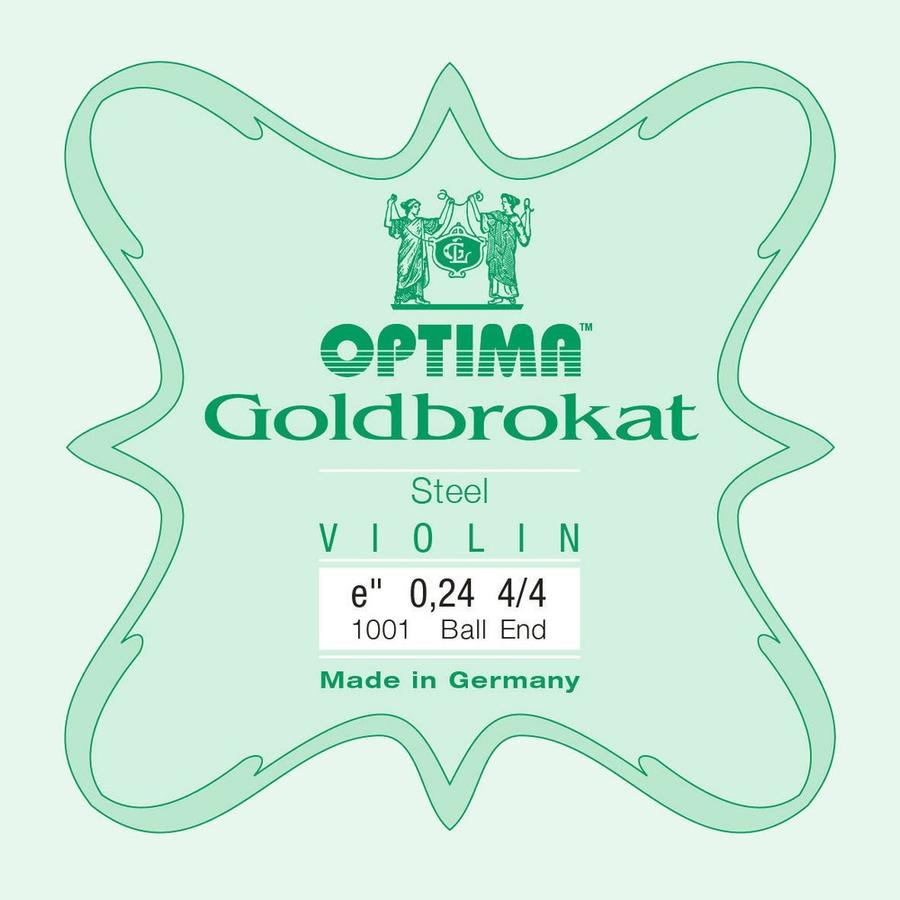 Optima Corda MI per violino Lenzner Goldbrokat 0,27 Heavy ball