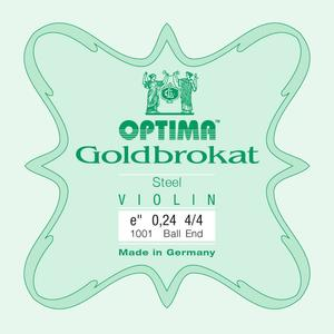 Optima Corda MI per violino Lenzner Goldbrokat 0,26 Medium ball