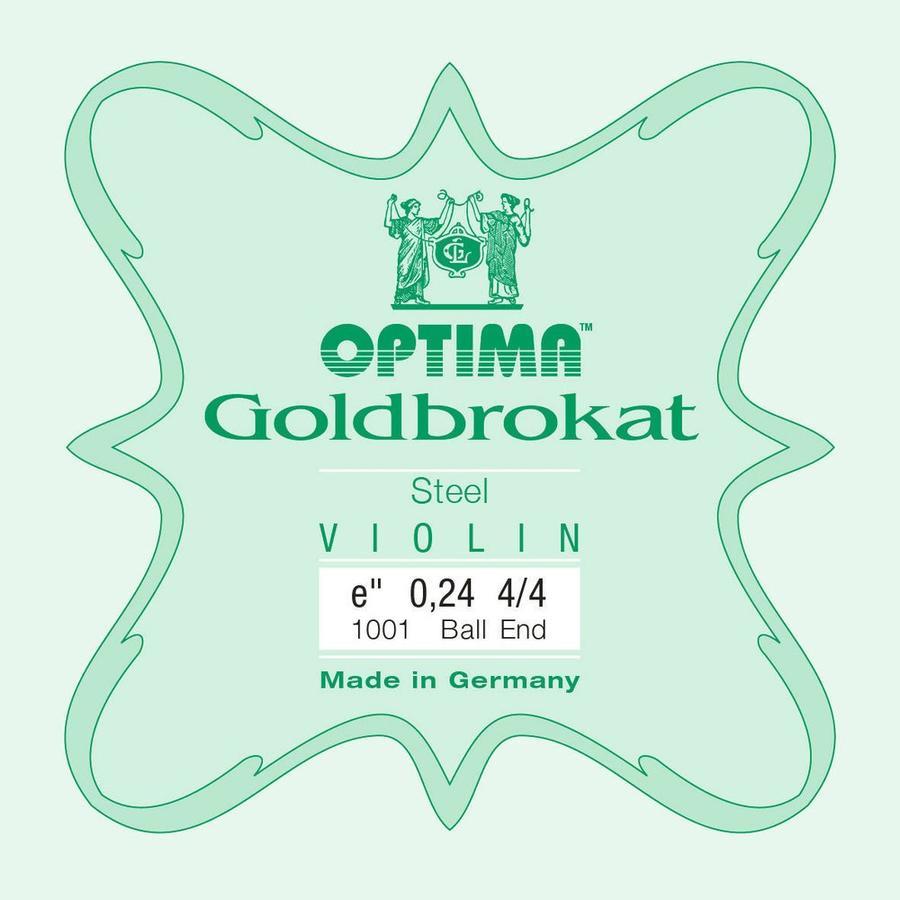 Optima Corda MI per violino Lenzner Goldbrokat 0,26 Medium ball