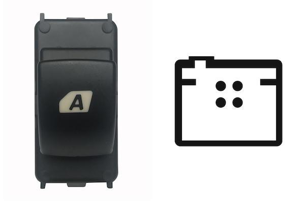 Interruttore Alzacristalli 6490.E3 / 6490.HQ